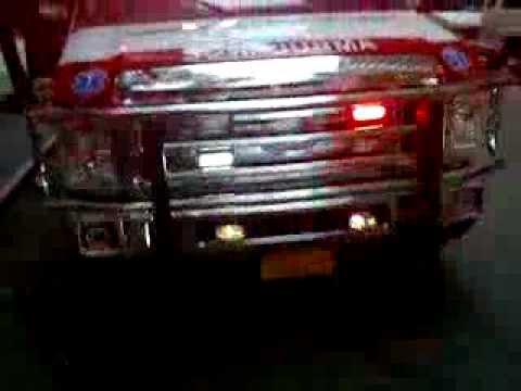 Hatzolah - Brand new ambulance front view code 3