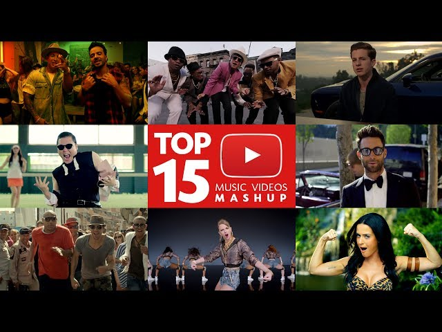 2017 Most Viewed Music Videos Mashup (Luis Fonsi, J.Bieber, PSY, Wiz Khalifa + MORE)