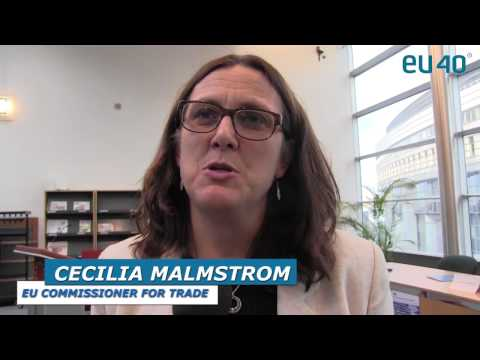 Interview with Cecilia Malmstrom, European Commissioner for Trade
