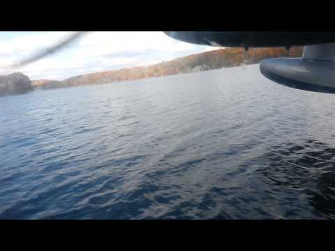 Flying and water touch and gos in the Albatross