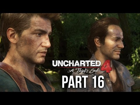 Uncharted 4 Gameplay Walkthrough Part 16 - JOIN ME IN PARADISE (Chapter 14)