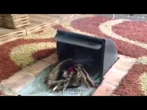 اختراع سعودي جميل مشب نار Youtube