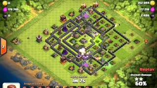 GiWiWi attack on very common Clash of Clans base
