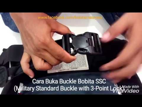 Buckle Bobita SSC - Military Standard with 3-Point Lock System.