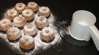 Кексы с изюмом. Тесто для кексов на сметане.