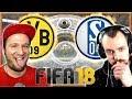 Borussia Dortmund vs Schalke 04 | YouTuber Duell BenMasterful vs EgoWhity
