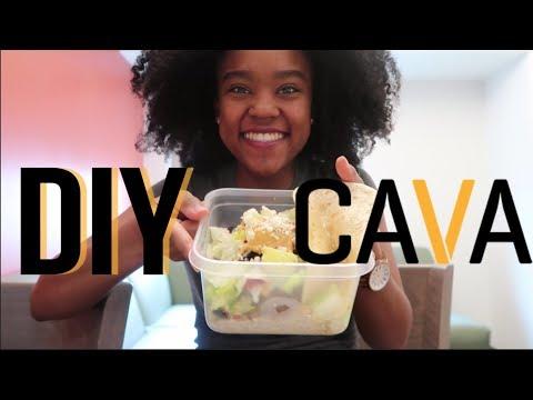 College Meal Prep: DIY CAVA Mediterranean Bowl (Vegetarian)