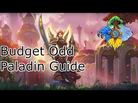 Budget Odd Paladin: Deck Guide