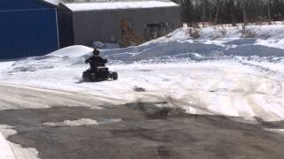 Super Modified Racing Lawn Tractor