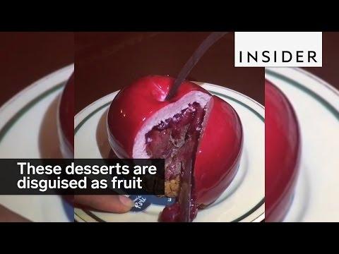 This Thai restaurant disguises delicious desserts as fruit