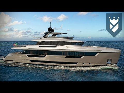 Filippetti Yachts new 32 meter Explorer Yacht