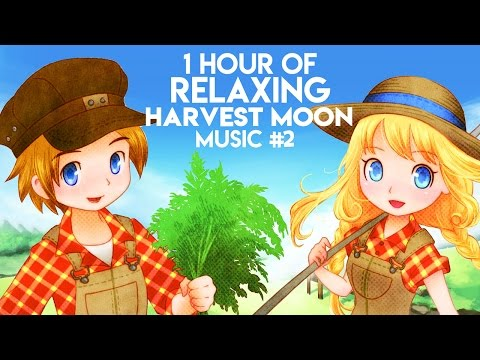1 Hour Of Relaxing Harvest Moon Music (Part 2) - YT