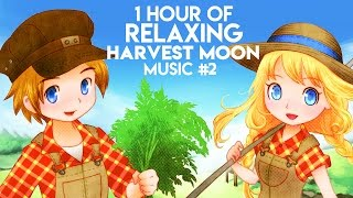 1 Hour of Relaxing Harvest Moon Music (Part 2)