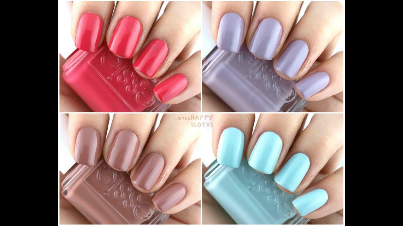 trendy nail paint shades || nail paint color - YouTube