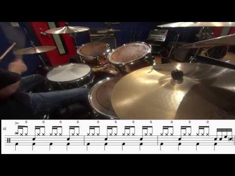 UNISON SQUARE GARDEN - シュガーソングとビターステップ drum cover (ドラム譜付)