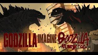 KAIJU MOMENTS DREAM GODZILLA 2014 VS GODZILLA RESURGENCE
