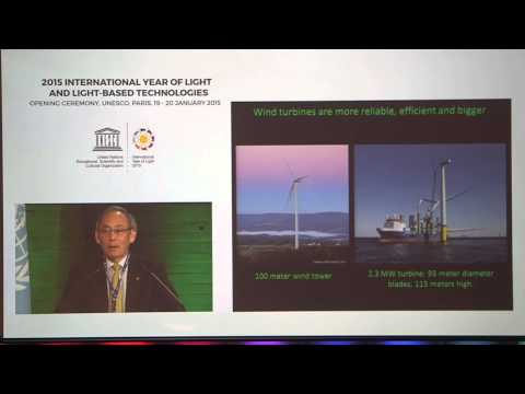 """Steven Chu: """"Energy and Climate Change -- Challenges and Opportunities"""" plenary talk"""