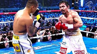 When Manny Pacquiao Defied His Boxing Opponent!