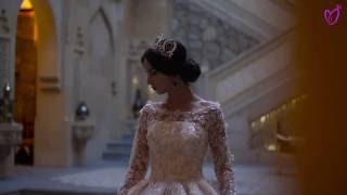 Съемка красивых свадебных платьев от свадебного дома Санторини в отеле «Shah Palace»