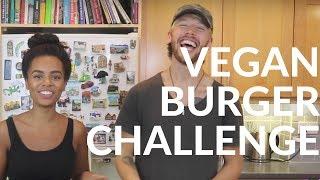 VEGAN Burger Challenge | Vegan Pulled Pork | Beetroot Quinoa Burger