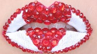 Queen of Hearts Lip Art ft Jeffree Star