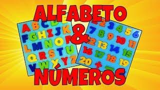 Aprender as Letras e os Números na Educação Infantil | Vídeos Educativos para Crianças