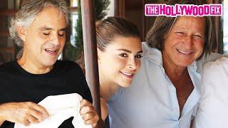 Mohamed Hadid & Shiva Safai Sing Andrea Bocelli Happy Birthday 9.22.15 - TheHollywoodFix.com