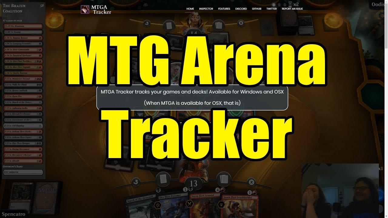 Software Tipp: MTG Arena Tracker - erfahrt mehr über eure Decks!