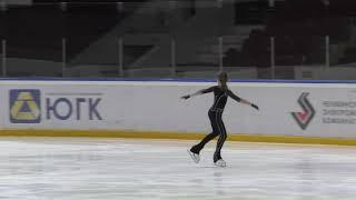 Первенство Челябинской области 2 спортивный девушки Короткая программа 6 Маргарита АХМАДИЕВА ЕКБ