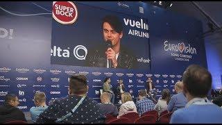 ALEKSEEV. Пресс-конференция. Eurovision 2018. Без комментариев 05.05.2018