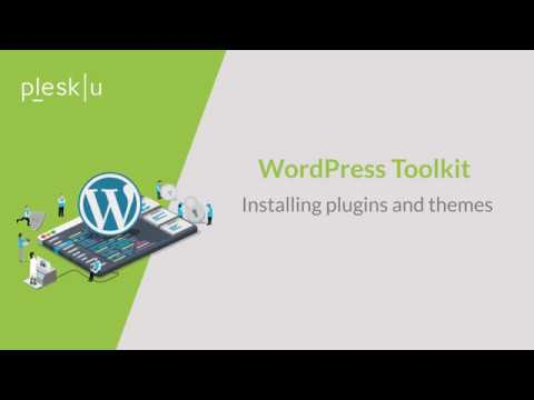 WordPress Toolkit - Install plugins and themes