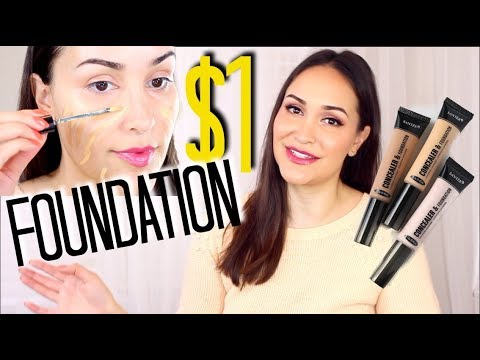 Testing Out $1 Foundation