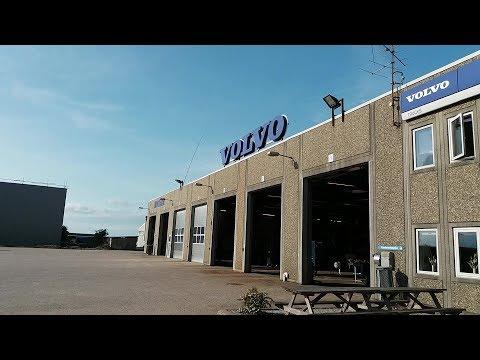 Дальнобой Европа №18 Volvo сервис. Замена масла. Бесплатный обед )