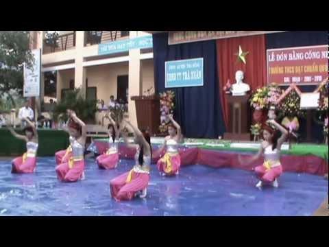 Video clip Lễ đón bằng công nhận Trường THCS Trà Xuân đạt chuẩn Quốc gia