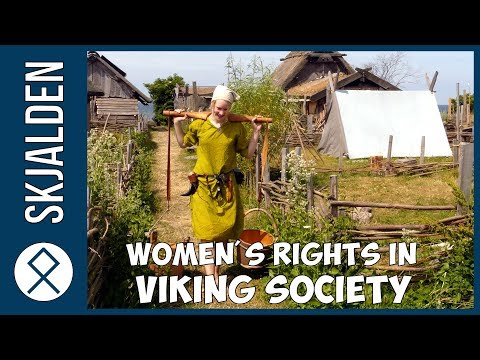 Viking women - How was their life in the Viking age?