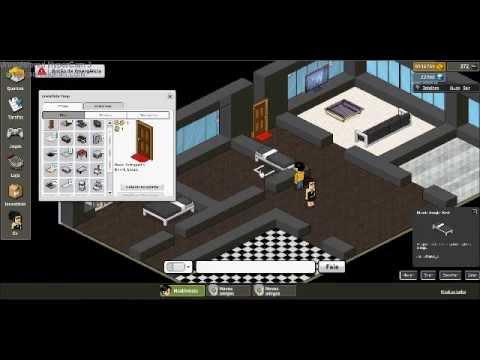 Constru o rel mpago habbo casa moderna youtube for Casa moderna habbo