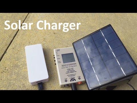 Solar Charger - 12v Solar Shed