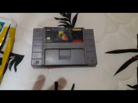 Mais Um Cartucho Do SNES Original Pra Coleção ( Unboxing Com Minha Filha )