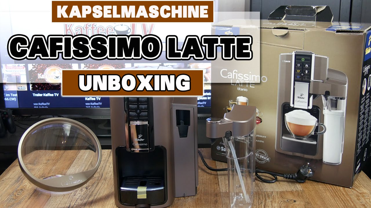 cafissimo latte unboxing erster eindruck der metallic farben deutsch youtube. Black Bedroom Furniture Sets. Home Design Ideas