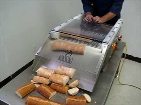 Bread Slicing Machine Youtube