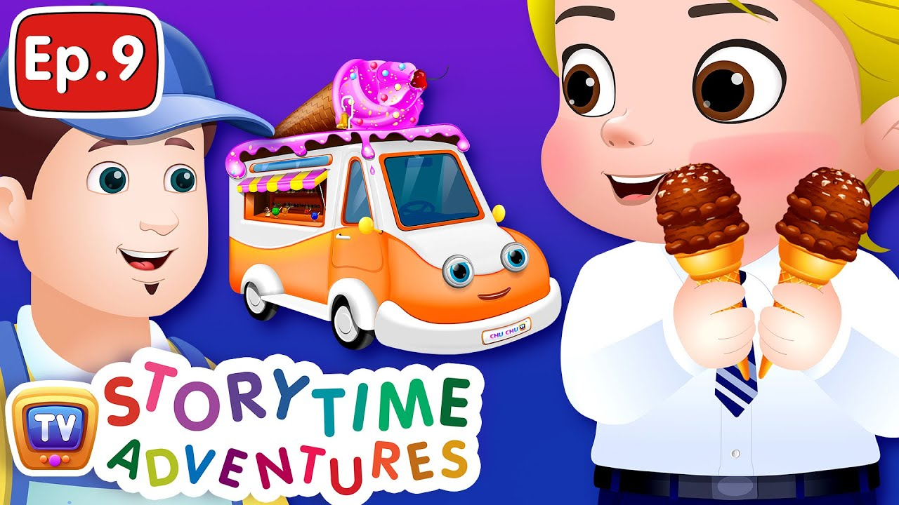 The Ice Cream Truck - Storytime Adventures Ep. 9 - ChuChu TV