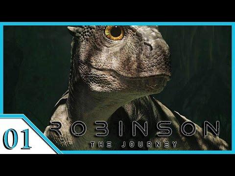 VR Robinson: The Journey #01 - Gestrandet im Dino Land - [PS4 VR] [Lets play] [deutsch]
