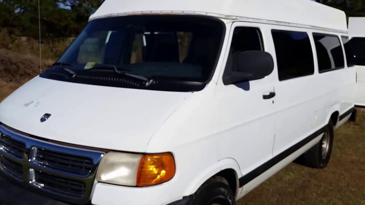 Van Build 1998 Dodge 3500 Work Camper