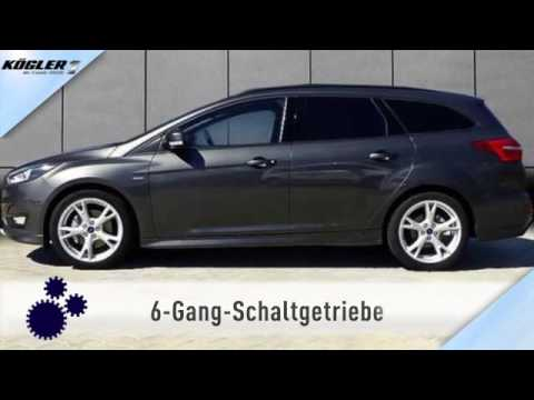 ford focus turnier 1 5 ecoboost st line navi 20 youtube. Black Bedroom Furniture Sets. Home Design Ideas