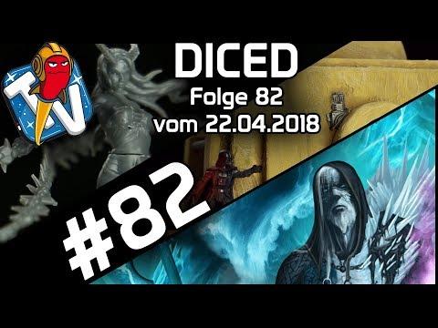 DICED - Die Tabletopshow auf Rocketbeans TV #82 | Summoners | Star Wars Legion | Malifaux | DICED