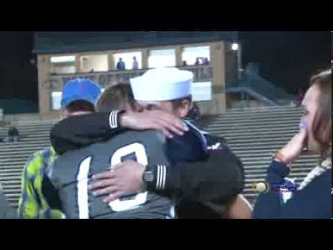 Tift County Football Player Surprised By Visit From Navy Brother