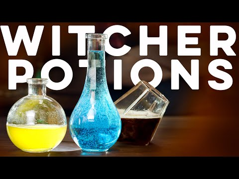 The Witcher Potions    How To Drink