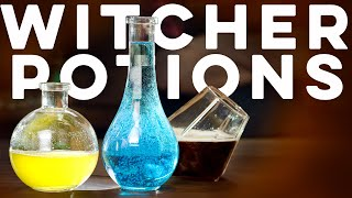 The Witcher Potions  | How to Drink