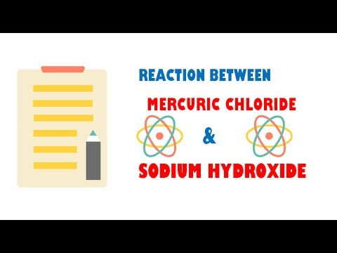 Mercuric Chloride and Sodium Hydroxide ( Reaction )