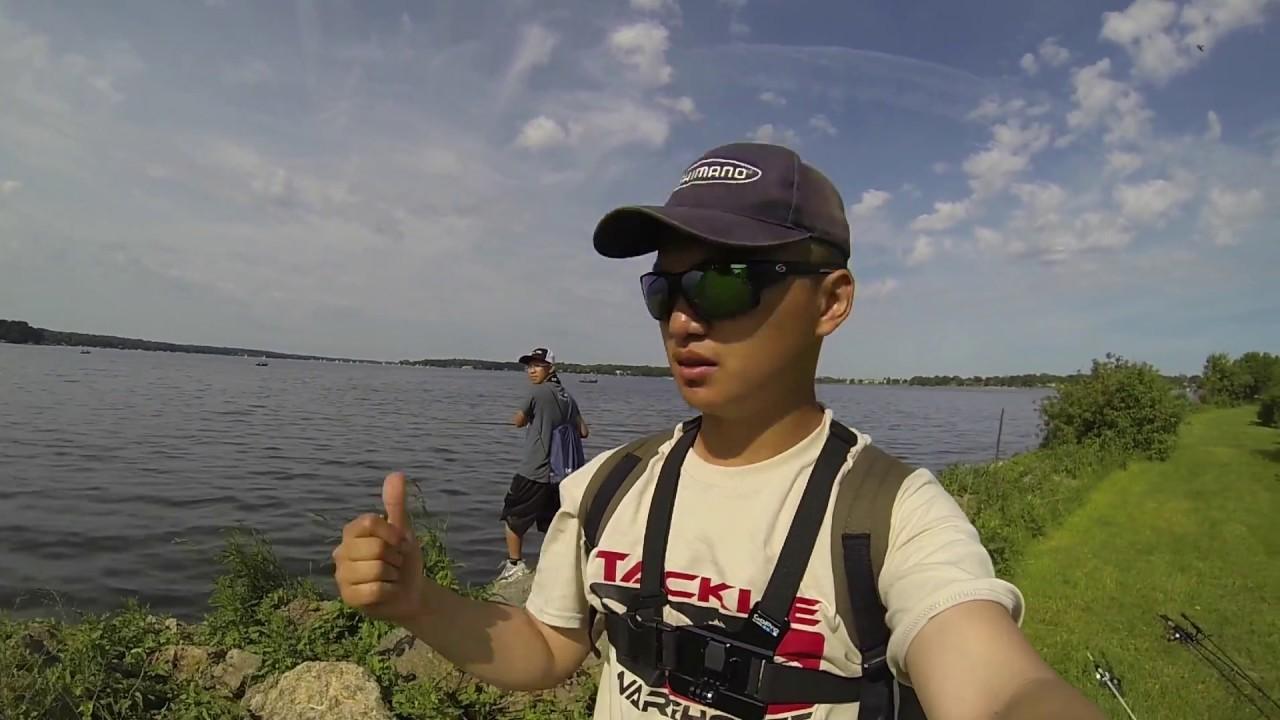 Bass fishing lake delavan youtube for Lake delavan fishing